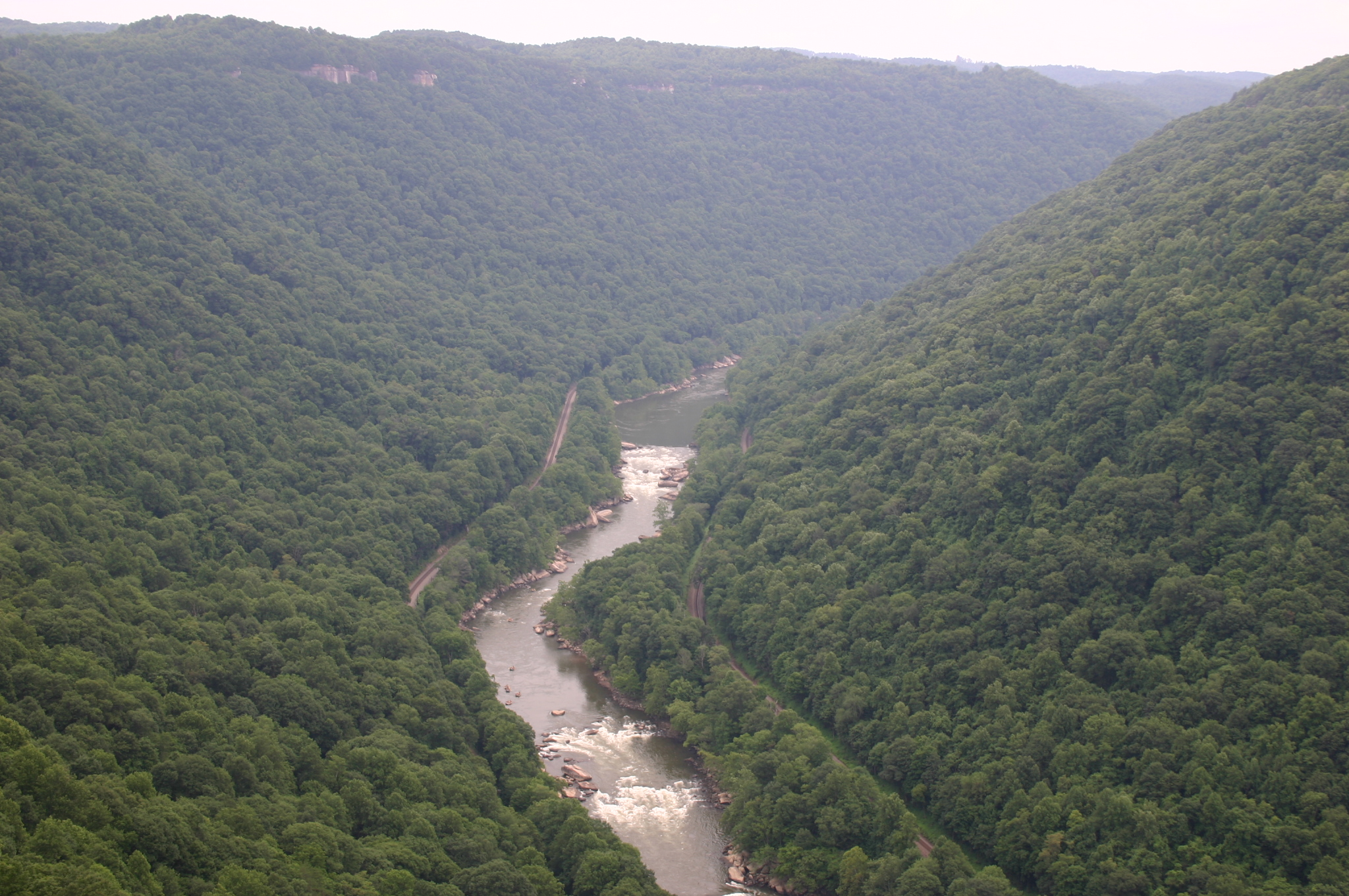 the new river gorge a natural wonder take two. Black Bedroom Furniture Sets. Home Design Ideas